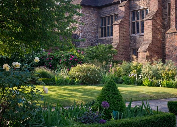 The Charterhouse gardens