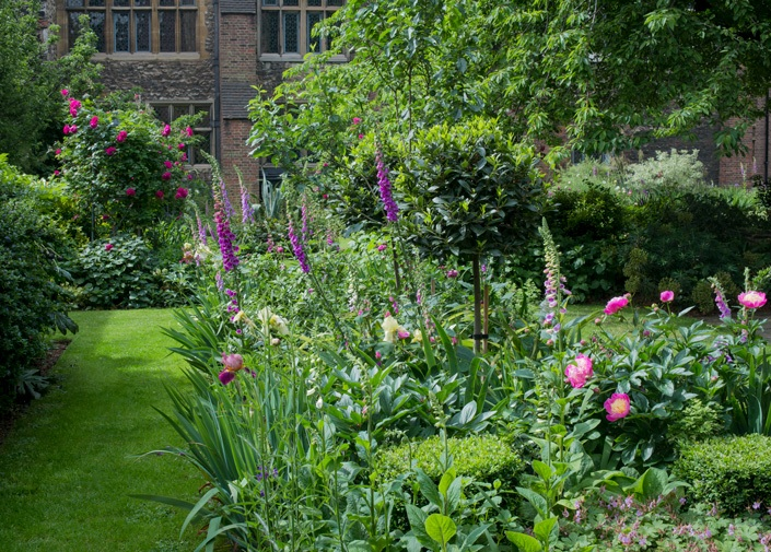 The Charterhouse gardens